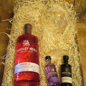 Full size Hampers With Glass