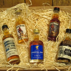 Rum Miniature hampers
